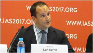 Рафаел Ландович (Raphael Landovitz) на Конференции IAS 2017