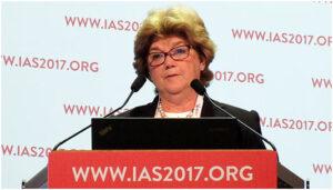 Kathleen Squires на Конференции IAS 2017