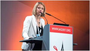 Karine Lacombe на Конференции IAS 2017