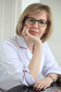 "V. Zhukova, Head of the Department of Epidemiology and Prevention of the State Healthcare Institution ""Moscow Regional Centre for the Prevention and Control of AIDS and Infectious Diseases"""