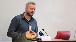 "M. Angeltvedt, head of ""Gay & Lesbian Health Norway"" organization"
